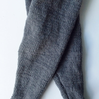 Hand knitted Cashmere or merino  trousers