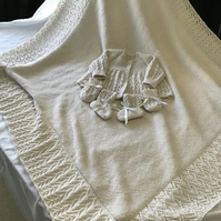 Hand knitted luxury layettes