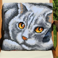 Tapestry Cat Cushion