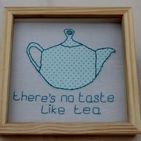 Fabric Teapot Picture