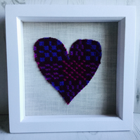 Welsh Tapestry Heart Picture