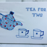 Canvas Picture Tea for Two