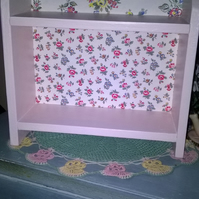 Handcrafted Wooden Shelf Unit Storage Shelves made using Cath Kidston Design