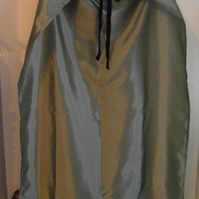 Silver dressing up cape or cloak - Nativity King superhero school play costume