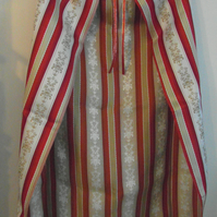 Red gold dressing up cape or cloak - Nativity King superhero school play costume