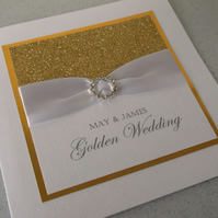 10 golden wedding anniversary invitations