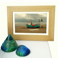 'Gone to the Beach' – framed photograph