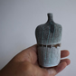 Stoneware Blue and Grey Tracks Bottle
