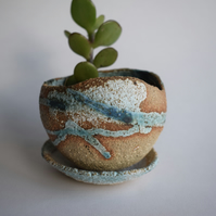 Pebble Sea Surf Planter