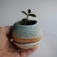 Ceramic Pebble Planter