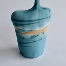 Seascape Ceramic Bottle