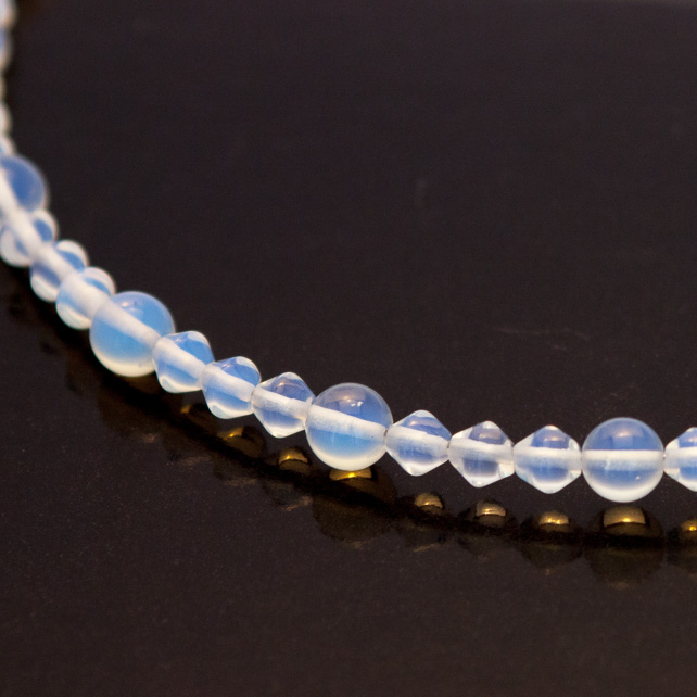 Opalite Memory Wire Necklace