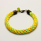 Bright Yellow Kumihimo Bracelet