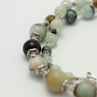 Multicoloured Amazonite Necklace