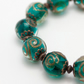 Emerald Green Glass Bracelet