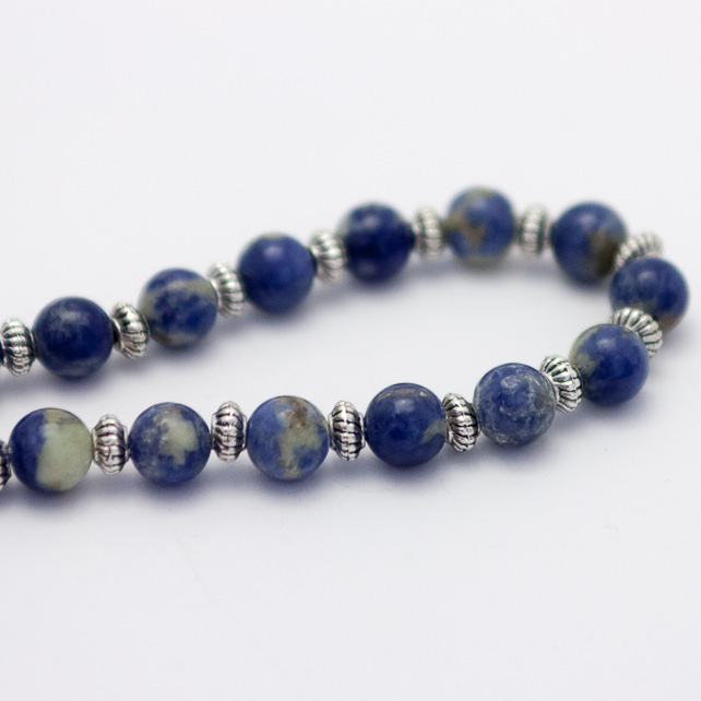 Men's Sodalite Necklace