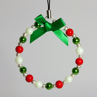 HALF PRICE! Christmas Tree Beaded Decoration