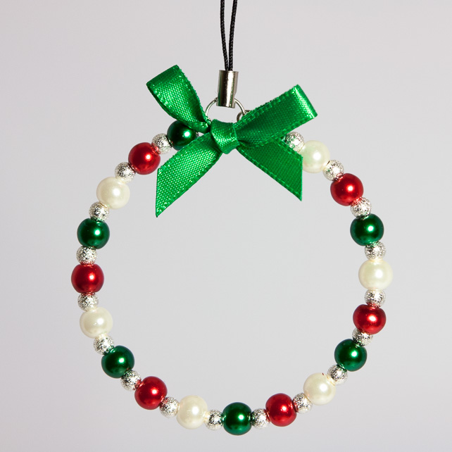Christmas Tree Beaded Decoration