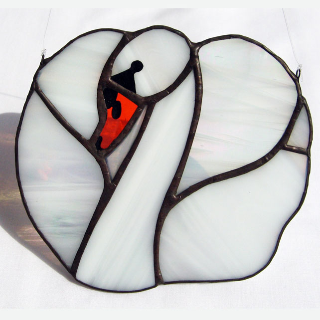Swan Heart Light Catcher