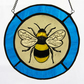 Bumble Bee Stained Glass Roundel
