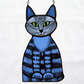 Blue Cat Light Catcher