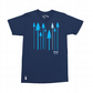 Setup® Forest T-Shirt in Navy Blue