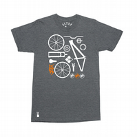 Setup® DirtSetup Mountain Bike T-Shirt in Dark Heather