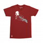 Setup® RAD Cycling T-Shirt in Cardinal Red