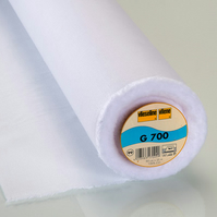 Half Metre Vilene Iron on Fusible G700  (Pellon SF 101)  Pure Cotton Interfacing