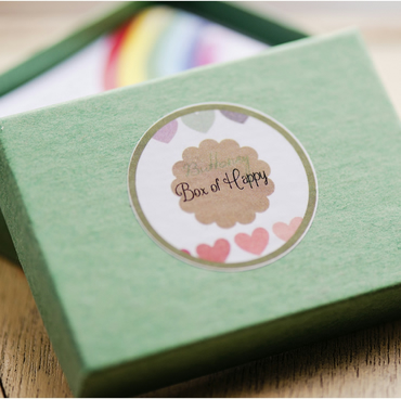 "Buttonsy ""Box of Happy"" - A One Year Happiness Project"