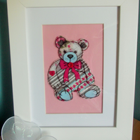 Teddy bear (shabby chic)