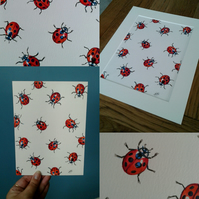 Ladybird original artwork
