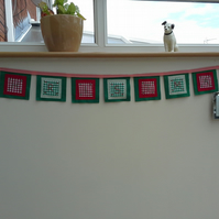 Rustic style bunting