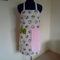 Apron with Hand Cloth