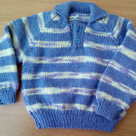 Baby's stripe jumper