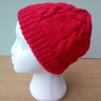 Red Pull on Hat