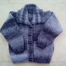 Child's knitted cardigan