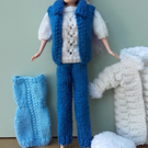 Set of Clothes for Barbie style doll