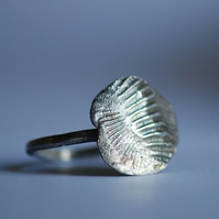 Low Tide Pure Silver Ring