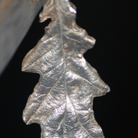 Pure Silver Oak Leaf