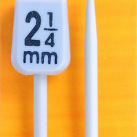Pony 2.25mm Knitting needles 25cm length