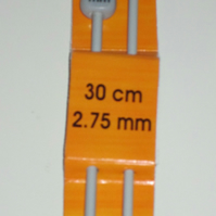 Pony 2.75mm Knitting needles 30cm length
