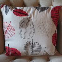 Red Leaves Cushion Cover (no3)