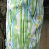 Daisies and Grass  Carrier Carrier Bag Holder