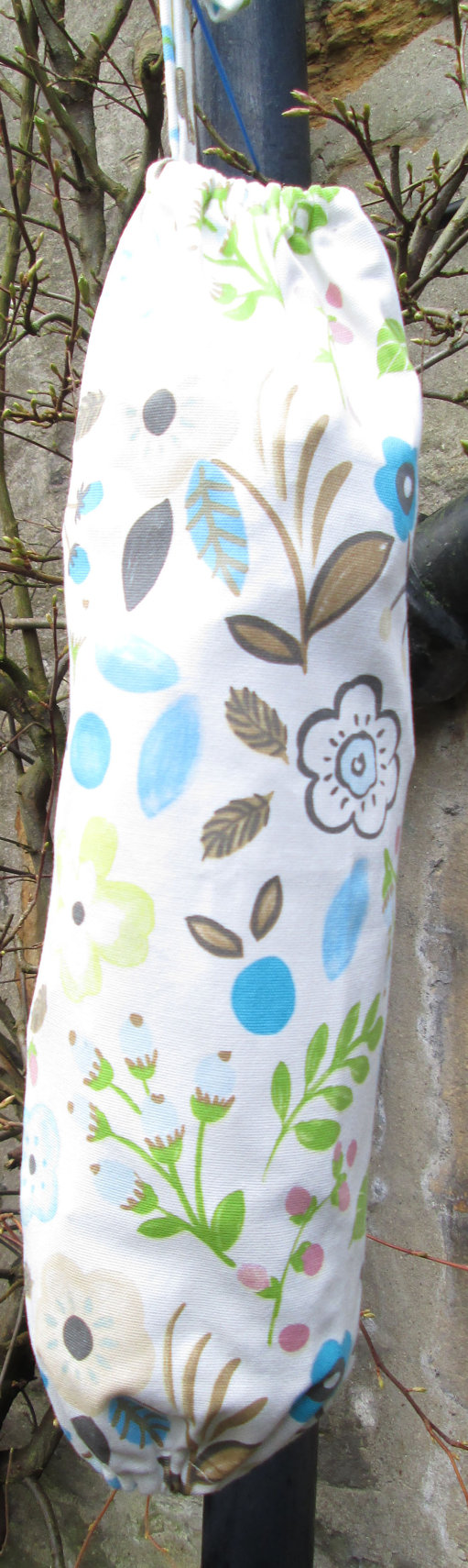 Woodland Flowers Carrier Bag Holder