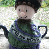 Suffragette Votes for Women Tea Cosy