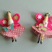 Craft kit fairy peg dolls