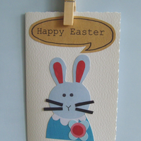 Handmade Easter card Personalised