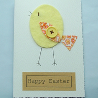 Handmade Easter card can be personalised