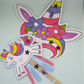 Craft kit make a unicorn wand and crown